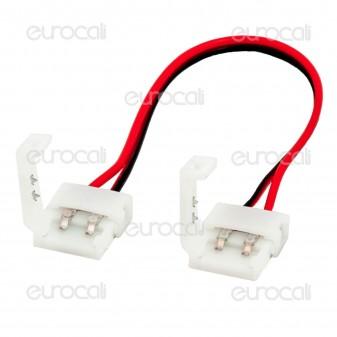 Connettore Flessibile per Strisce LED Monocolore 5050 Clip 2 Pin