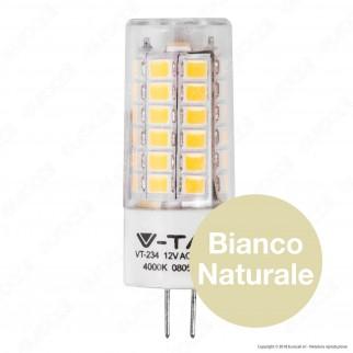 V-Tac PRO VT-234 Lampadina LED G4 3,2W Bulb Chip Samsung - SKU 131 / 132 / 133