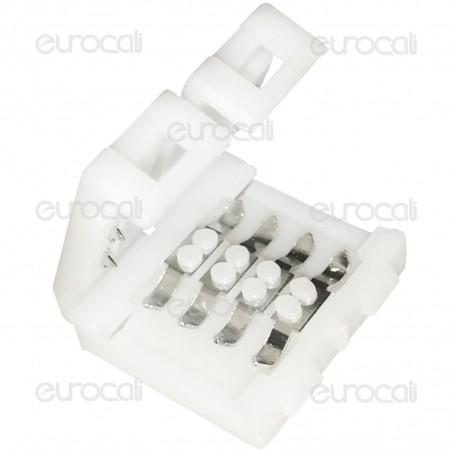 Connettore Consecutivo per Strisce LED Multicolore RGB Clip 4 Pin - SKU 3505
