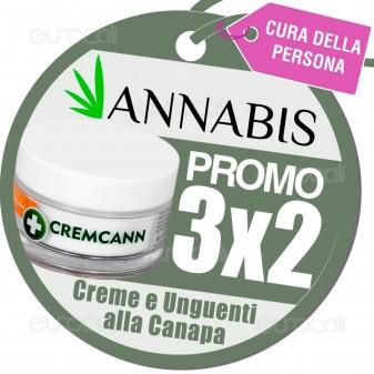 3X2 Acquistando Prodotti alla Canapa Annabis