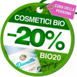 Sconto 20% sui Prodotti della Categoria Cosmetici BIO - Codice BIO20