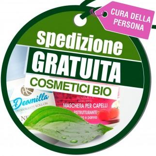 Spedizione Gratuita su Tutto l'Ordine Acquistando 25€ di Prodotti Cosmetici BIO