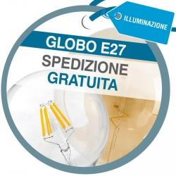 Spedizione Gratuita su Tutto l'Ordine Acquistando Globo LED E27