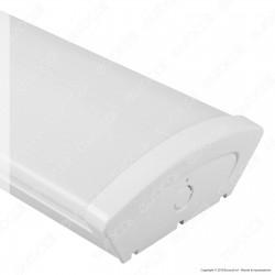 Kanlux MEBA 4LED Plafoniera Doppia per 2 Tubi LED T8 da 60cm - mod. 26963