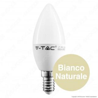V-Tac PRO VT-268 Lampadina LED E14 7W Candela Chip Samsung - SKU 111 / 112 / 113