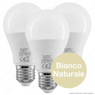 Fan Europe Intec Light Kit 3 Lampadine LED E27 12W Bulb A60 - mod. KLASSIC-E27-12C-KIT/KLASSIC-E27-12M-KIT/KLASSIC-E27-12F-KIT
