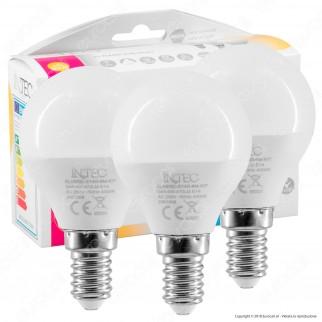 Fan Europe Intec Light Confezione Risparmio 3 Lampadine LED E14 6W MiniGlobo P45