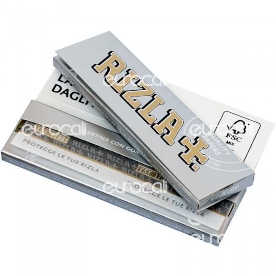 Cartine Rizla Silver Corte Argento -  Libretto