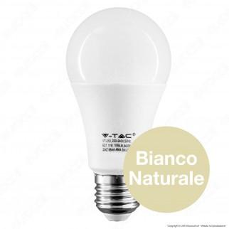 V-Tac PRO VT-212 Lampadina LED E27 11W Bulb A60 Chip Samsung - SKU 232 / 233