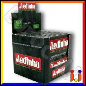 Cartine Aledinha Corte Trasparenti 100% Cellulosa - Scatola da 24 Libretti