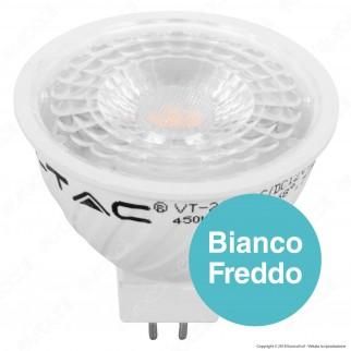 V-Tac PRO VT-267 Lampadina LED GU5.3 (MR16) 6,5W Faretto Spotlight Chip Samsung - SKU 207 / 208 / 209