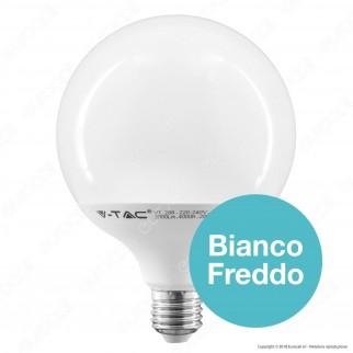 V-Tac PRO VT-288 Lampadina LED E27 18W Globo G120 Chip Samsung - SKU 123 / 124 / 125