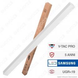 V-Tac PRO VT-7-43 Lampada LED a Sospensione Linear Light 40W Chip Samsung White Body - SKU 383