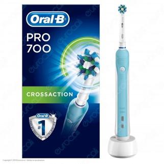 Oral B PRO 700 3D White Spazzolino Elettrico Ricaricabile Braun con Timer Oral B - 1