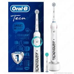 Oral B Smart Series Teen Spazzolino Elettrico Ricaricabile Braun con Bluethooth