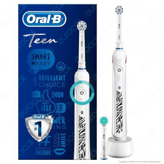 Oral B Smart Series Teen Spazzolino Elettrico Ricaricabile Braun con Bluethooth Oral B - 1