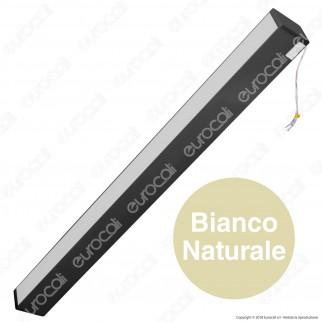 V-Tac PRO VT-7-60 Lampada LED a Sospensione Linear Light 60W Chip Samsung Black Body Dimmerabile - SKU 379