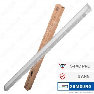 V-Tac PRO VT-7-43 Lampada LED a Incasso Linear Light 40W Chip Samsung Silver Body - SKU 380