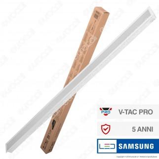 V-Tac PRO VT-7-41 Lampada LED a Incasso Linear Light 40W Chip Samsung White Body - SKU 381 / 604