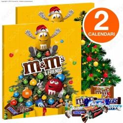 [EBAY] 2x M&M's & Friends Calendario dell'Avvento - Confezione da 361g