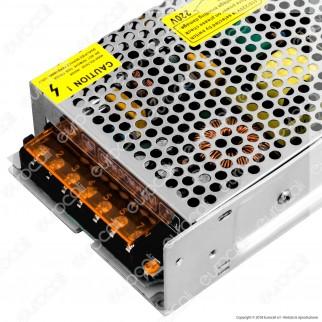 Life Alimentatore 120W Per Uso Interno 24V a 2 Uscite con Morsetti a Vite - mod. 41.AS312024