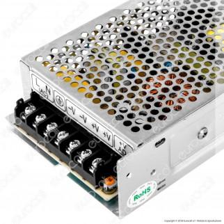 Wiva Alimentatore 150W Per Uso Interno 24V a 2 Uscite con Morsetti a Vite - mod. 61300006