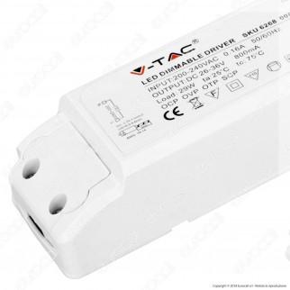 V-Tac Driver Dimmerabile per Pannelli LED 29W - SKU 6268