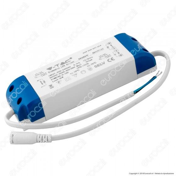 V-Tac Driver Dimmerabile 0-10V per Pannelli LED 36W - SKU 8079