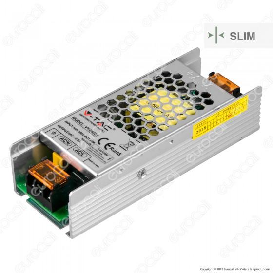 V-Tac VT-24061 Alimentatore 60W Per Uso Interno a 1 Uscita con Morsetti a Vite - SKU 3261