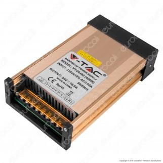 V-Tac VT-26400 Alimentatore 400W 24V Rainproof IP45 a 3 Uscite con Morsetti a Vite - SKU 3265