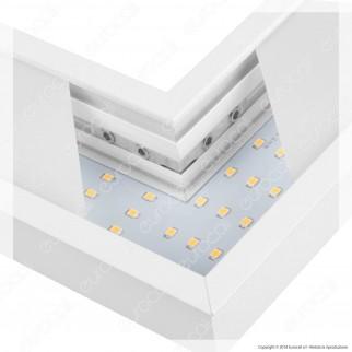 V-Tac PRO VT-7-41L Coppia di Lampade LED Raccordo a Incasso Linear Light 8W Chip Samsung White Body - SKU 385