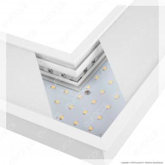V-Tac PRO VT-7-42L Coppia di Lampade LED Raccordo a Incasso Linear Light 10W Chip Samsung White Body - SKU 395