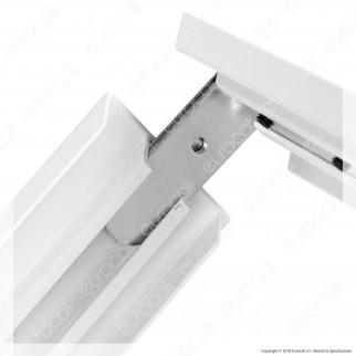 V-Tac Supporto in Metallo con Clip per Montaggio Esterno Pannelli LED 60x60 - SKU 8156