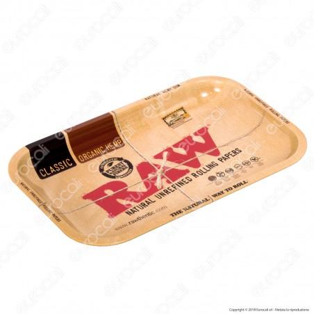 Raw Rolling Tray Vassoio di Rollaggio in Metallo