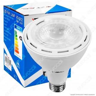 V-Tac VT-1212 Lampadina LED E27 12W Bulb Par Lamp PAR30 - SKU 4266 / 4267 / 4268