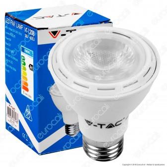V-Tac VT-1208 Lampadina LED E27 8W Bulb Par Lamp PAR20 - SKU 4263 / 4264 / 4265