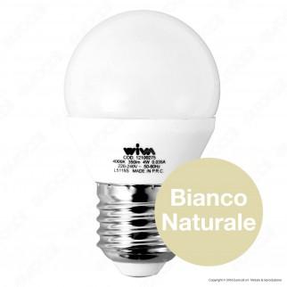Wiva Lampadina LED E27 4W MiniGlobo G45 - mod. 12100221 / 12100275 / 12100219