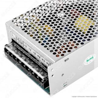 Wiva Alimentatore 200W Per Uso Interno 24V a 3 Uscite con Morsetti a Vite
