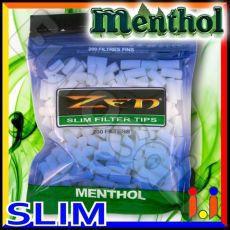 Zen Slim 6,5mm Mentolo -  Bustina da 200 Filtri