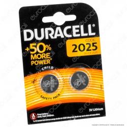 Duracell Lithium CR2025 / DL2025 Pila 3V - Blister 2 Batterie