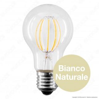 LED Line Lampadina LED E27 8W Bulb A60 Filamento Grafene - mod. 249112 / 249563