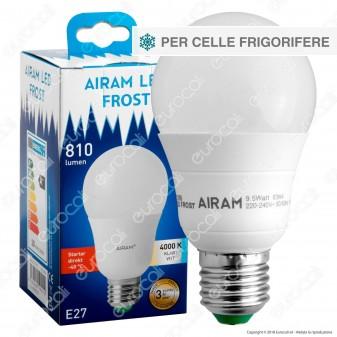 Bot Lighting Airam Frost Lampadina LED E27 9,5W Bulb A60 per Celle Frigorifere - mod. 4711395