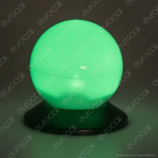 Kanlux Sfera con Luce LED RGB Multicolor con Pannello Solare e Picchetto - mod. SOALEPV14