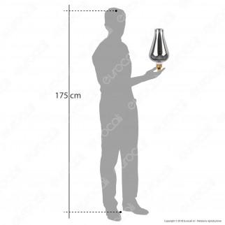 Daylight Lampadina E27 Filamento LED a Spirale 5W Bulb con Vetro Oscurato Dimmerabile - mod. 700186.00L