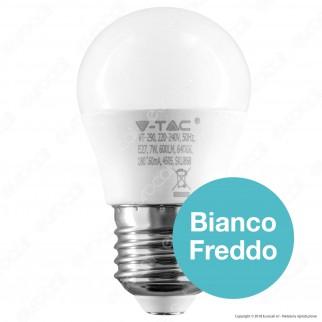 V-Tac PRO VT-290 Lampadina LED E27 7W MiniGlobo G45 Chip Samsung - SKU 867 / 868