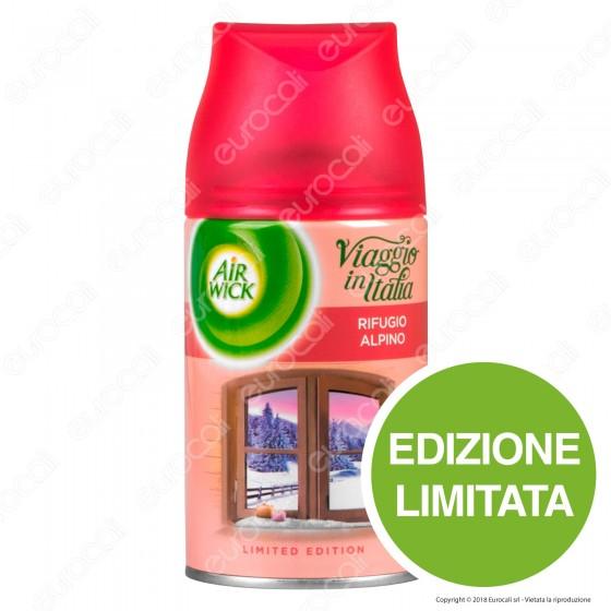 Air Wick Pure Freshmatic Viaggio in Italia Rifugio Alpino - Ricarica Spray da 250ml