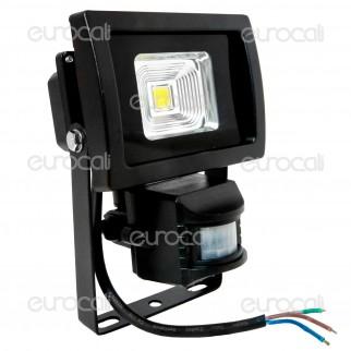 V-Tac VT-4710 PIR Faretto LED 10W da Esterno con Sensore