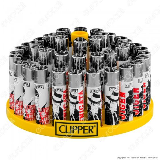 Clipper Large Fantasia Lupin 1 - Box da 48 Accendini