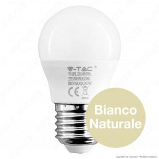 V-Tac VT-1879 Lampadina LED E27 5,5W MiniGlobo G45 - SKU 7407 / 7408