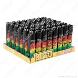 Clipper Large Fantasia Jamaican Vibes - Box da 48 Accendini